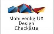 Mobilvenlig UX Design Checkliste [Infographics]